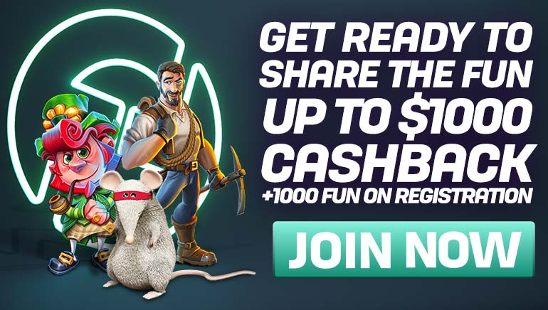 Join the FUN at CasinoFair, With a Generous Cashback Offer for new Players