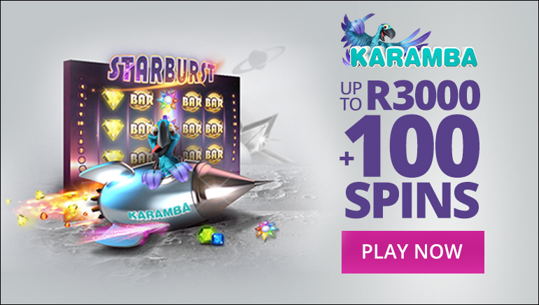 100% Welcome Bonus + 100 Spins Available at Karamba Casino