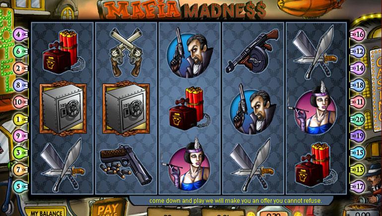 Mafia Madness – 100 Free Spins