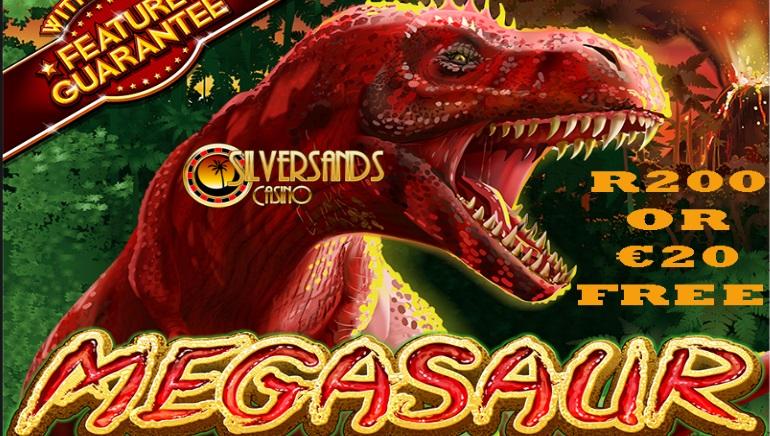 Claim Free Bonus Funds for Megasaur at SilverSands