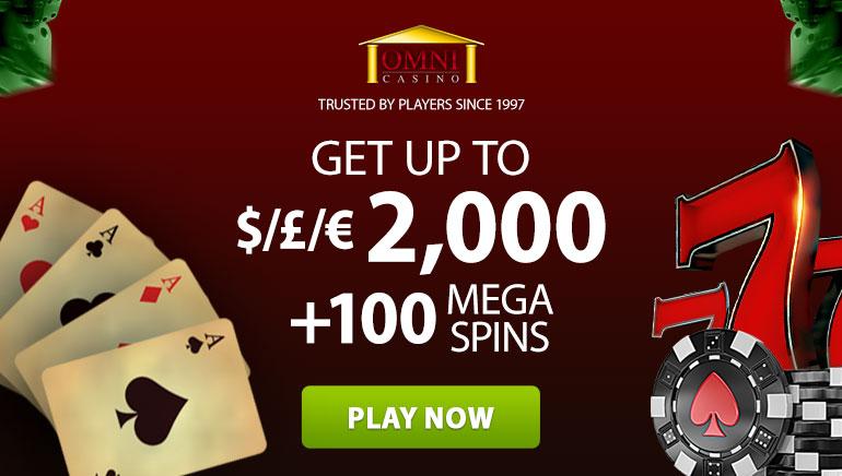Omni Casino Celebrates 20 Years With Big Welcome Bonus Offer