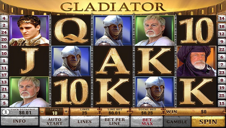 Combat the Gladiator, Hit the Jackpot