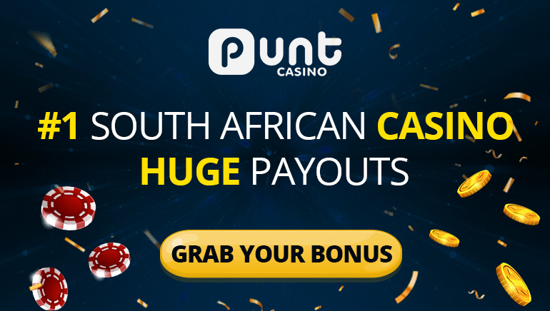 Punt Casino - #1 South African Casino with Huge Payouts