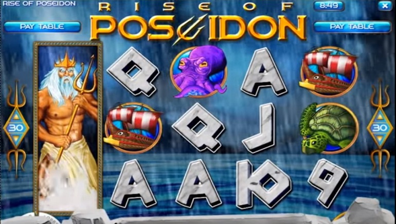 Rise of Poseidon Slot Comes to Rival Gaming Casinos