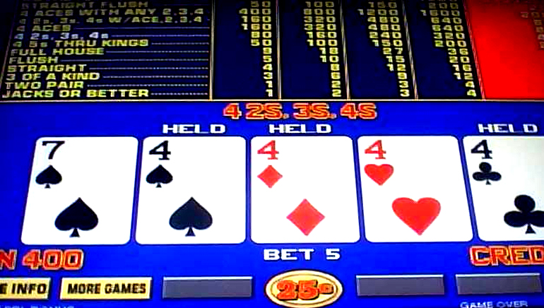 Video Poker at its Very Best