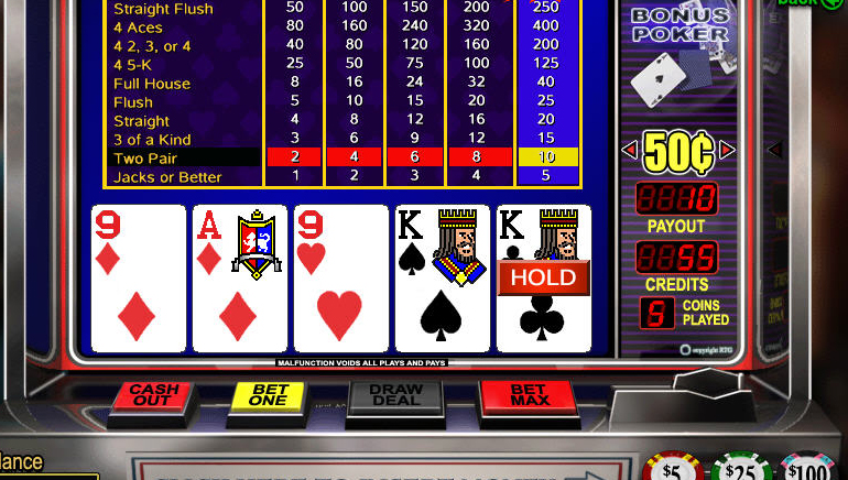 Video Poker for an Easy Poker Fix